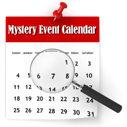 Mystery Event Calendar