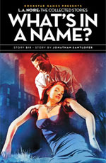 What's in a Name? by Jonathan Santlofer