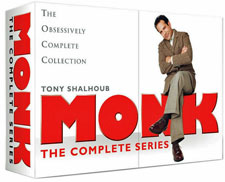 Monk: The Complete Series (Limited Edition Box Set), a Mystery TV Series