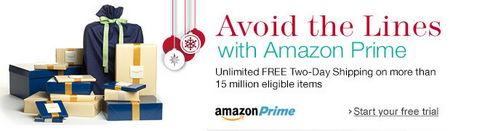 Amazon Prime: Perfect for the Holidays