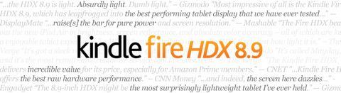 All New Kindle Fire HDX 8.9in Tablet