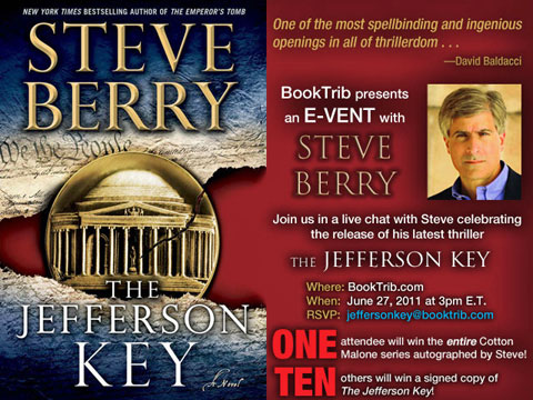 Steve Berry: A BookTrib Event