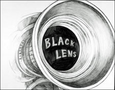 Black Lens by Ken Bruen