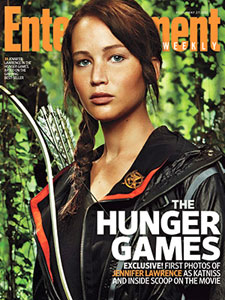 The Hunger Games (cover of Entertainment Weekly)