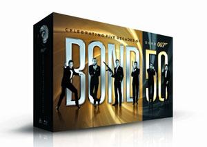 Celebrating 50 Years of James Bond on Blu-ray
