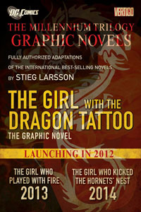 The Millennium Trilogy Graphic Novels by Stieg Larsson