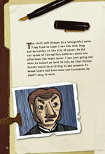 Sherlock Holmes Graphic Novel Sample Page