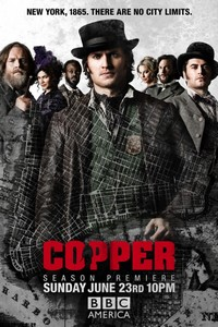 Copper Season 2 (BBC America, June 2013)