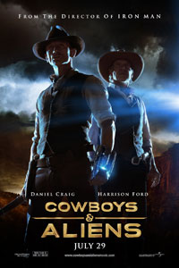 Cowboys & Aliens (July 2011)