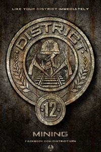 The Hunger Games District Posters (2012)