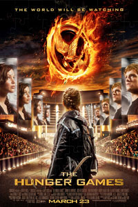 The Hunger Games Puzzle Poster (2012)